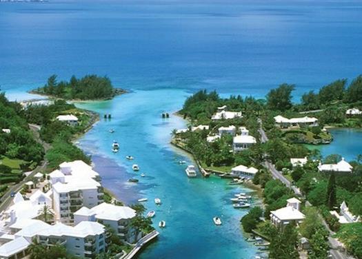 private canal in bermuda