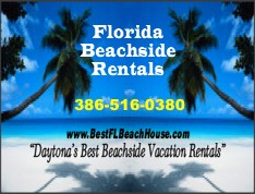 Daytona Beach house rentals
