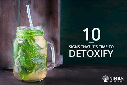 10 signs It's the right time to detox