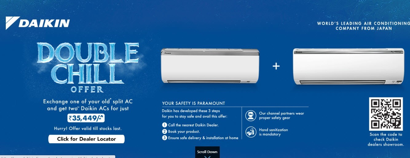 Looking for a high efficiency central air conditioner for your home? Choose VRV!