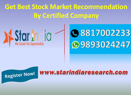 Get Best Stock Market Recommendation By Certified  Company