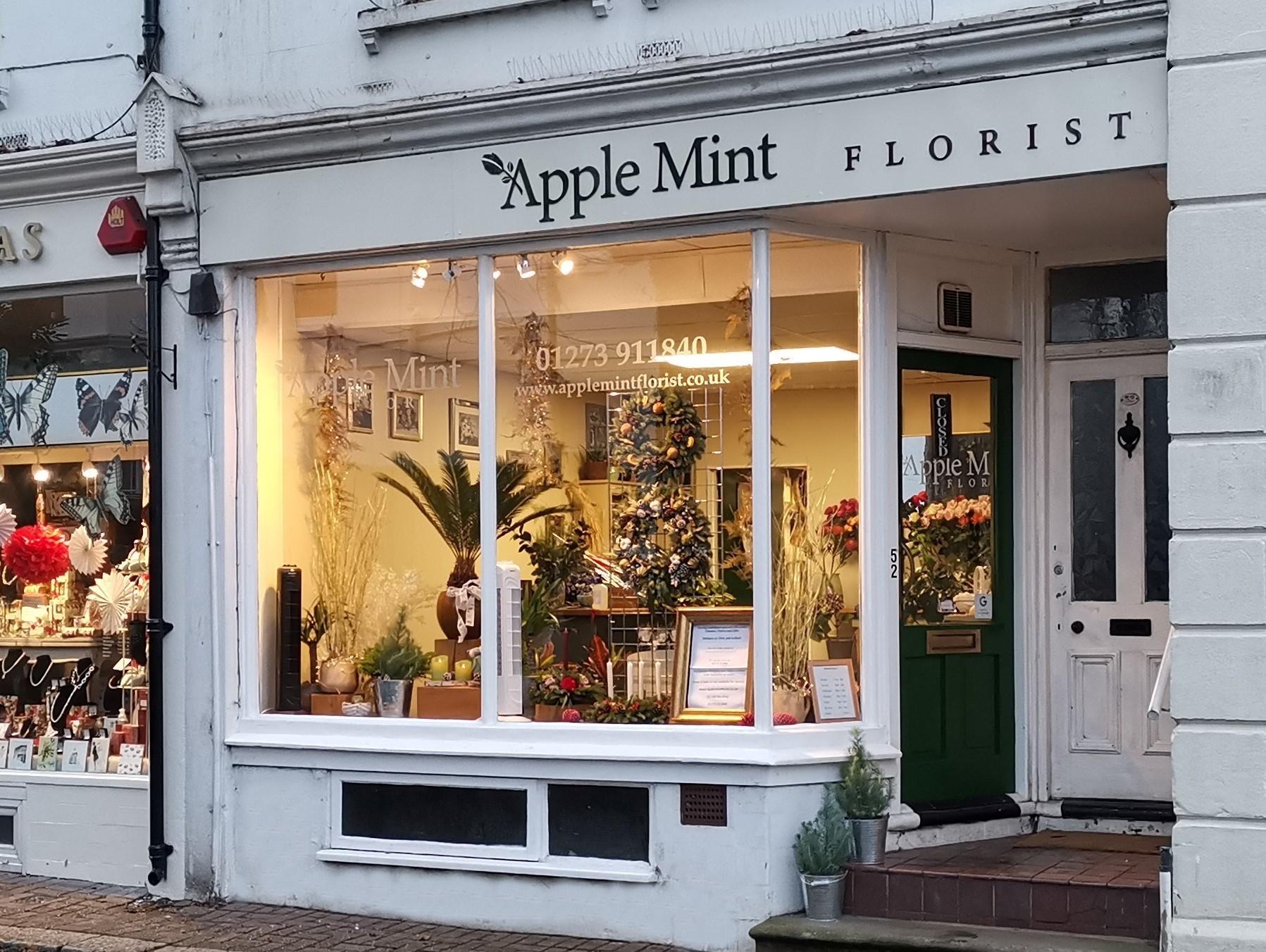 Flower Shop Storefront