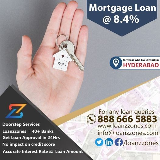 best Mortgage Loans Service provider in Hyderabad