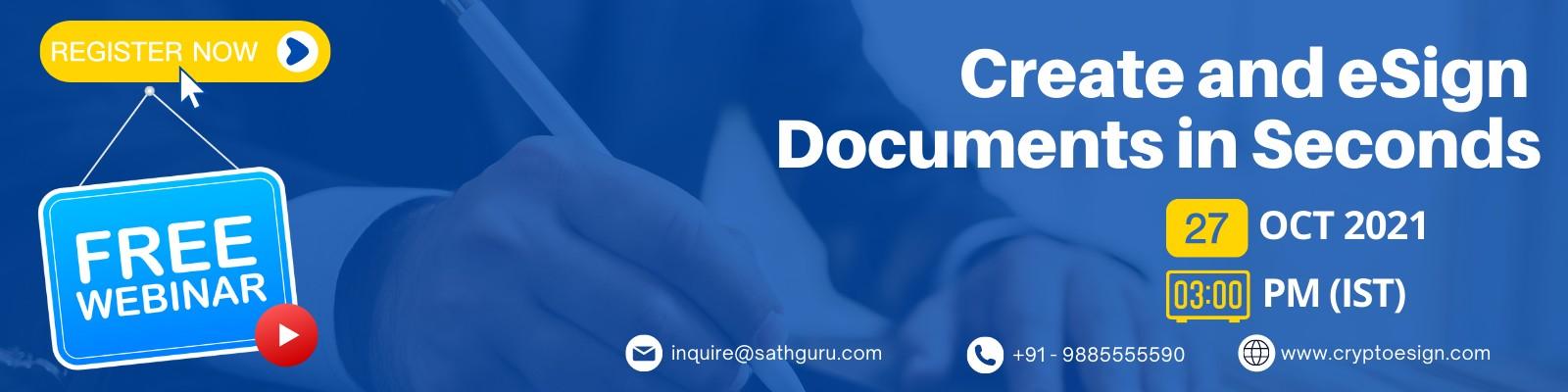 Best e-signature webinar