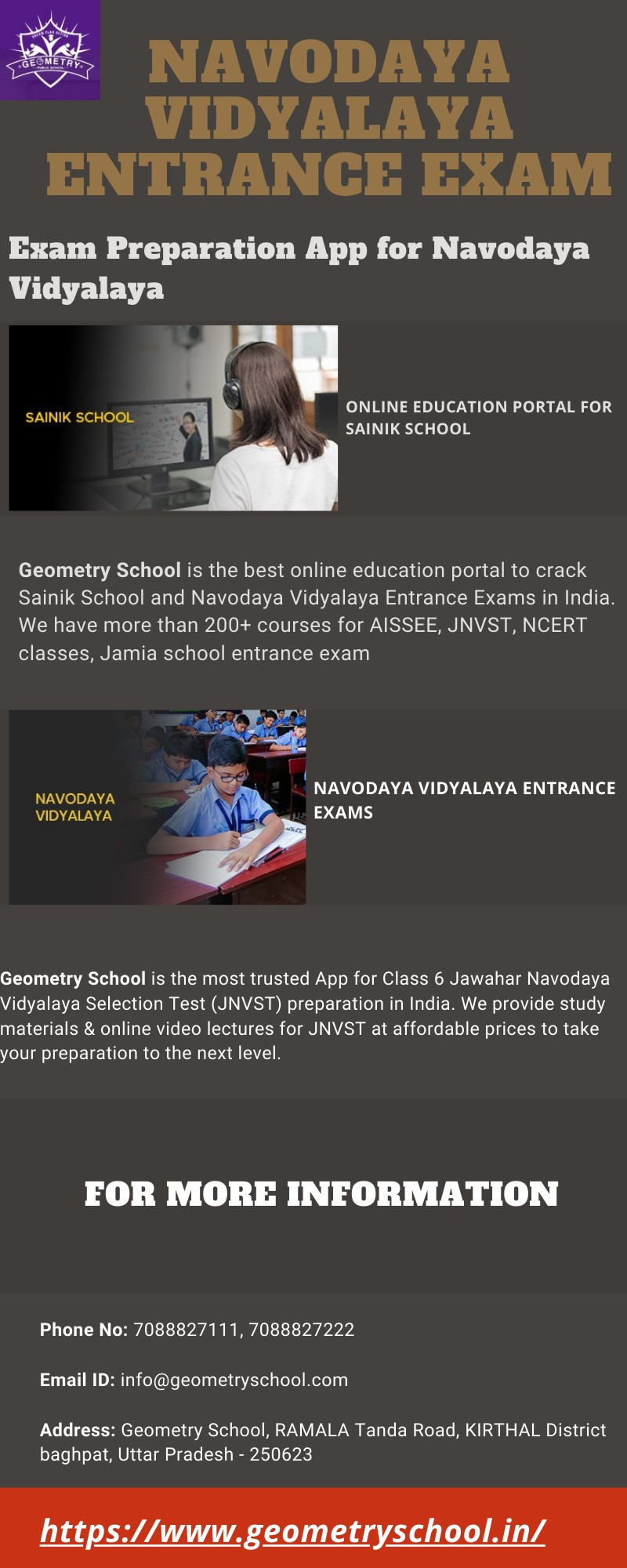 Top Exam Preparation App for Navodaya Vidyalaya