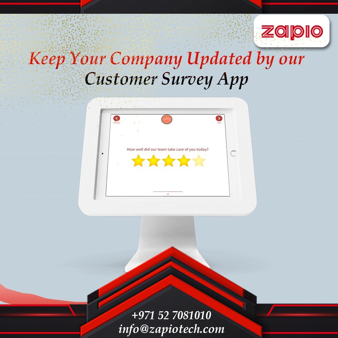 Customer Survey App in Dubai