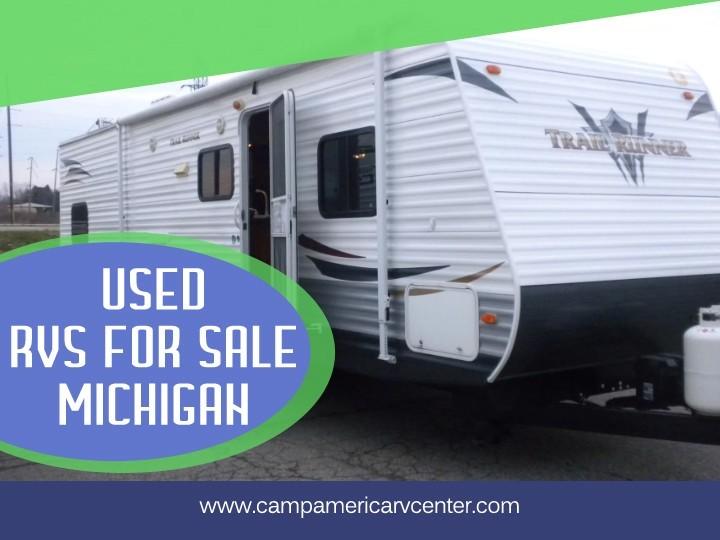 Used RVs for Sale Michigan