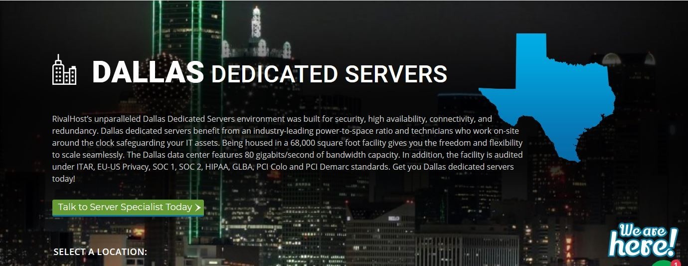 Dallas Dedicated Servers