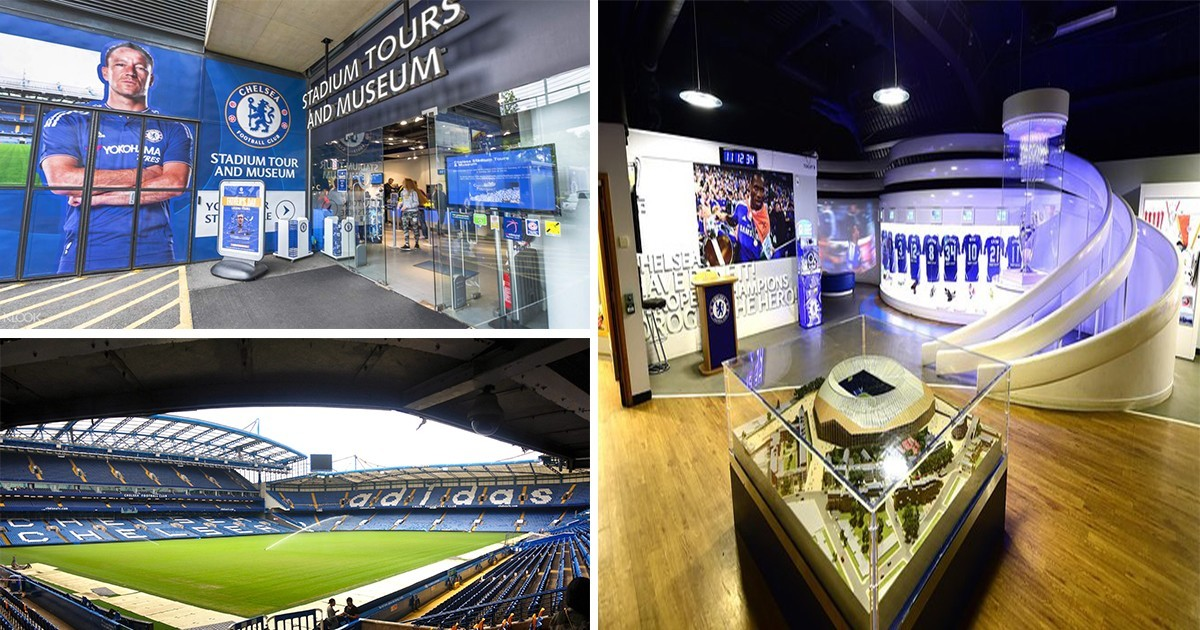 Chelsea FC Stadium and Museum London