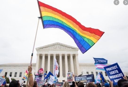 Supreme Court says federal law protects LGBTQ workers from discrimination.