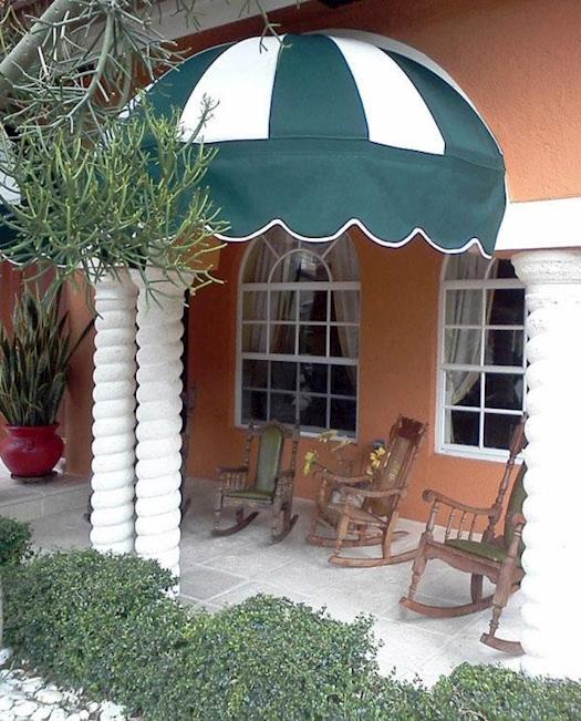 Eye-Catching Patio Awnings