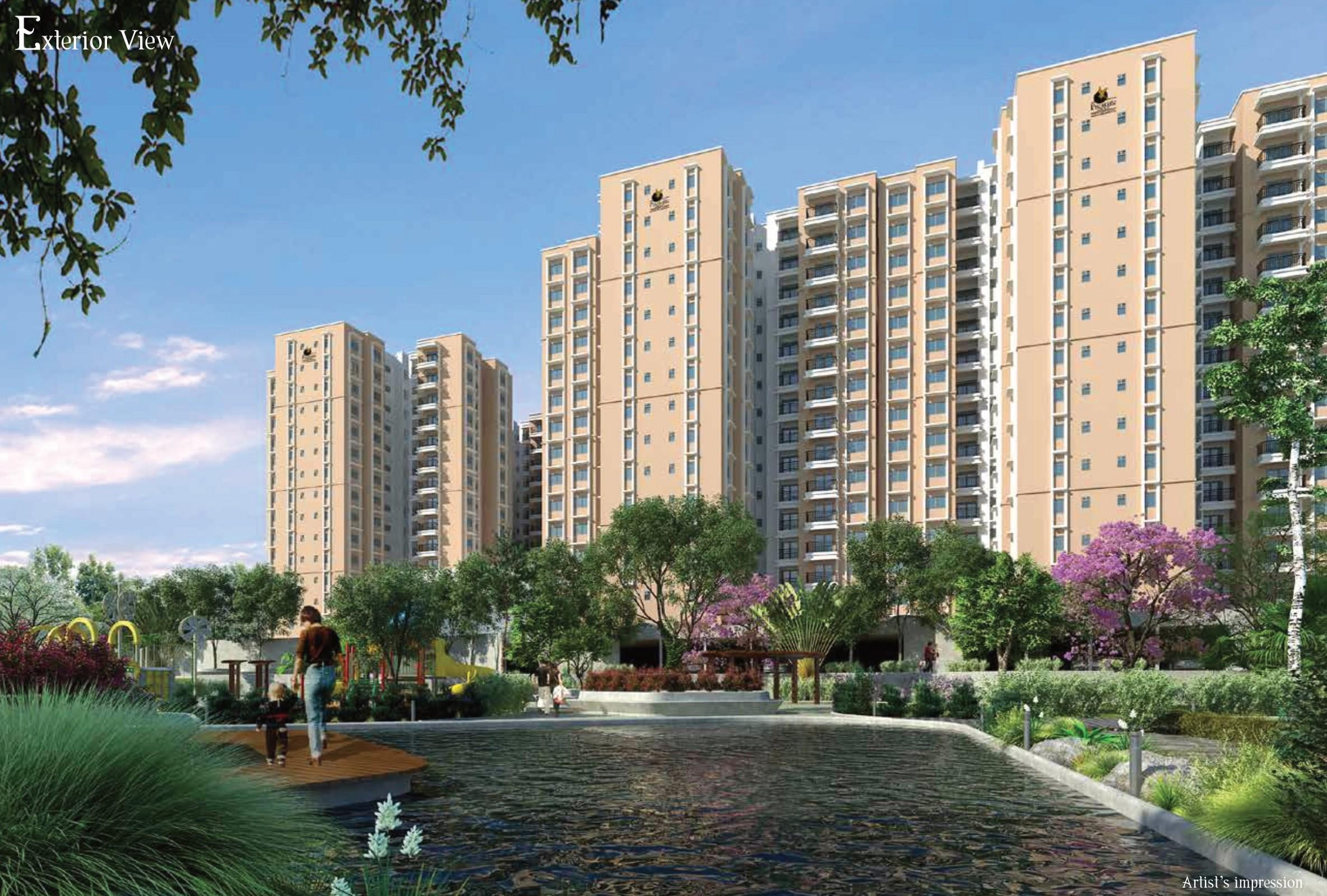 Prestige Group Premium 1/2 BHK Apartments in Off Kanakapura Road
