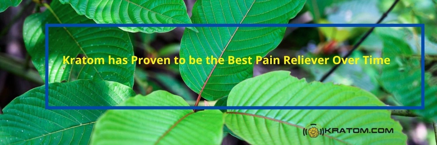 Kratom has Proven to be the Best Pain Reliever Over Time