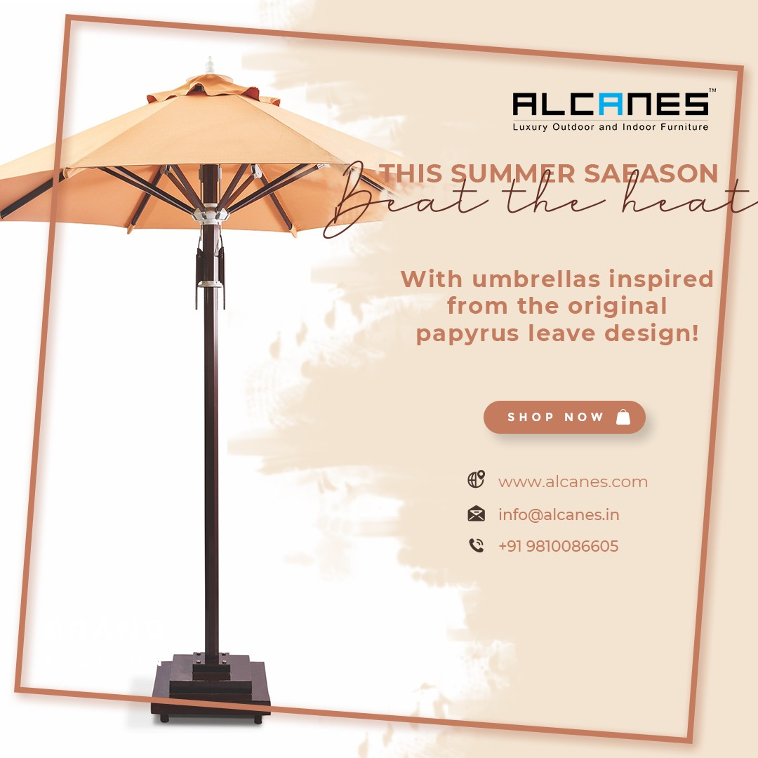 In Summer Season Beat the Heat With Latest Parasol Design