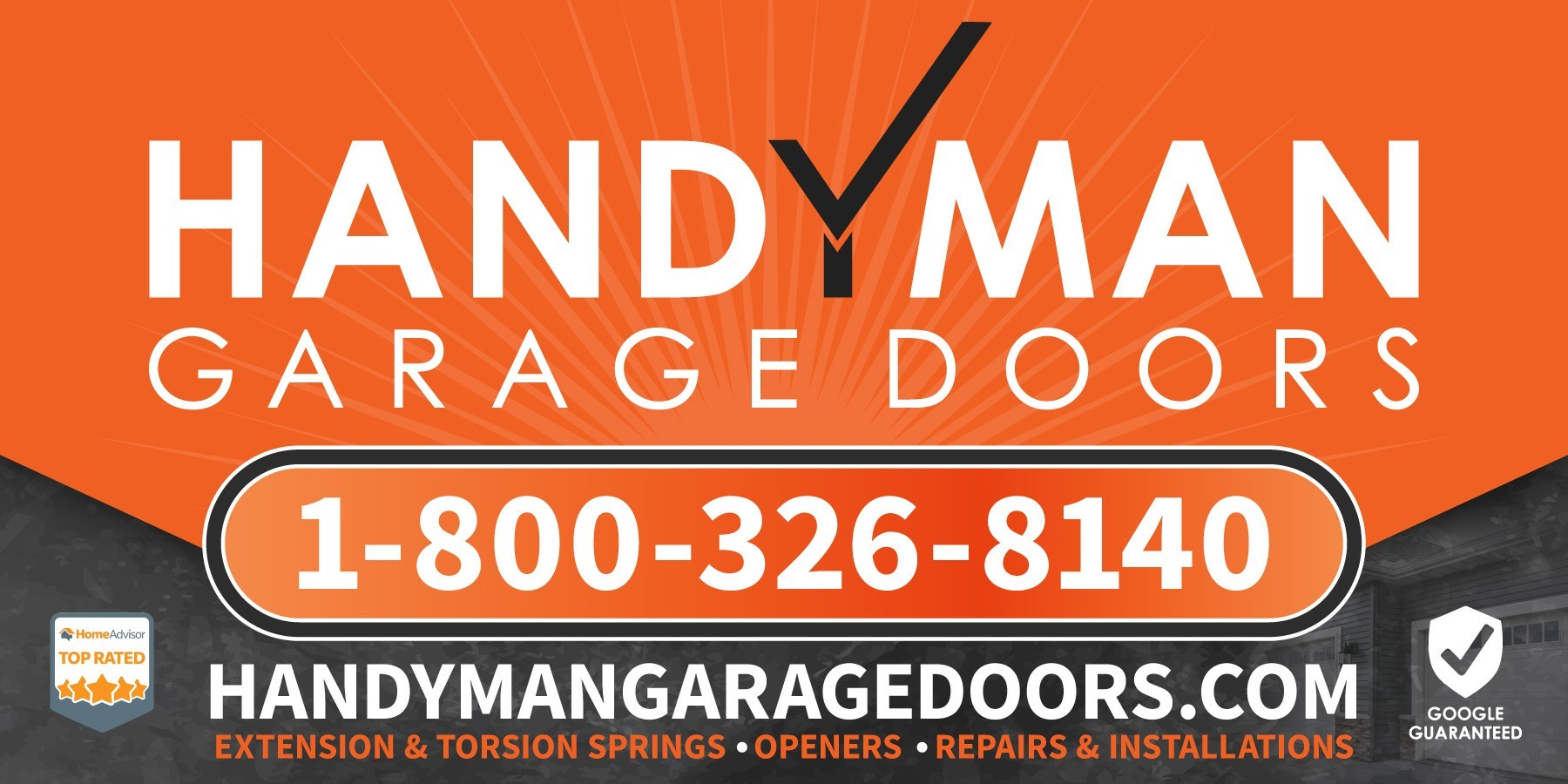 Handyman Garage Doors