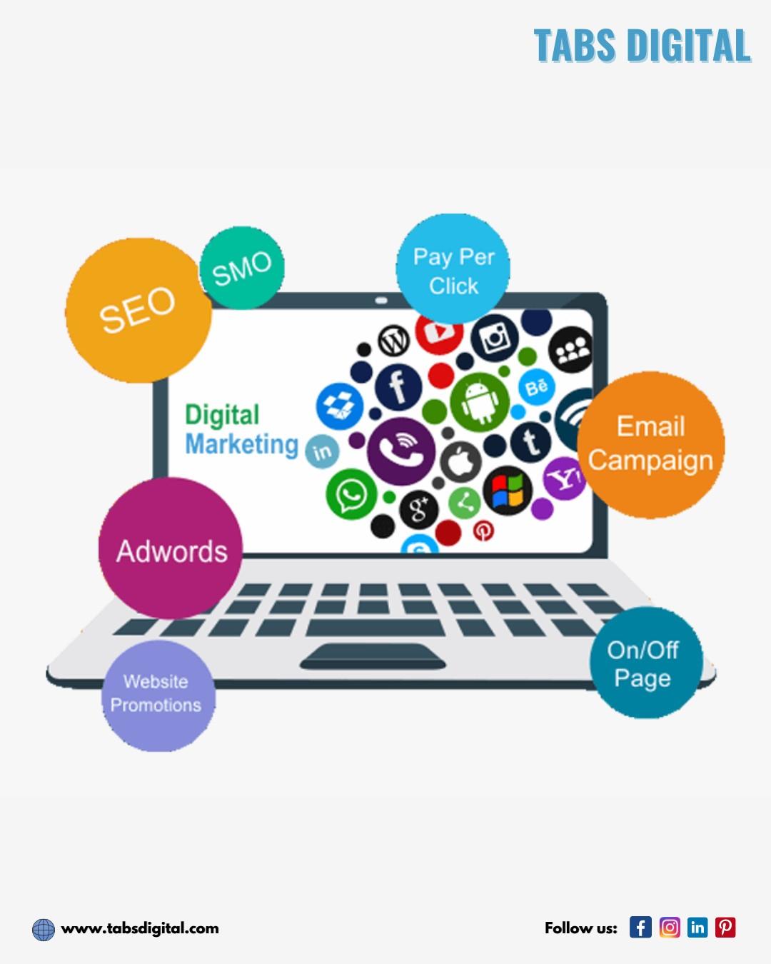 Digital Marketing And SEO Experts - Tabs Digital