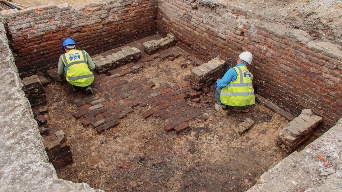 Archaeologists think they've found London's oldest theater.