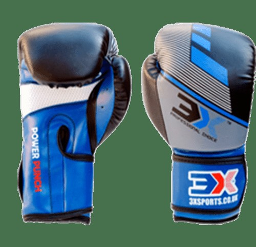 3X Sports Kids Training Gloves (Blue/Black)