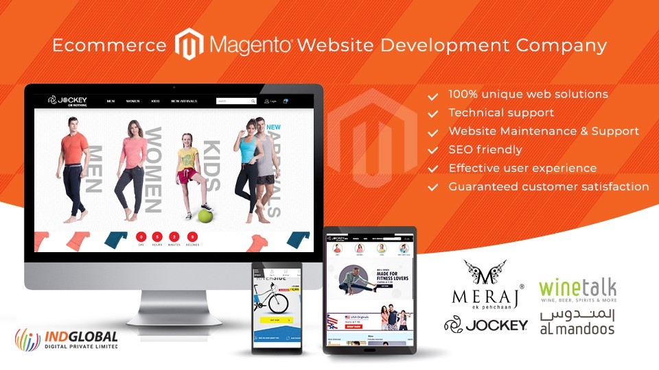 Magento eCommerce Website & web Development Company Bangalore