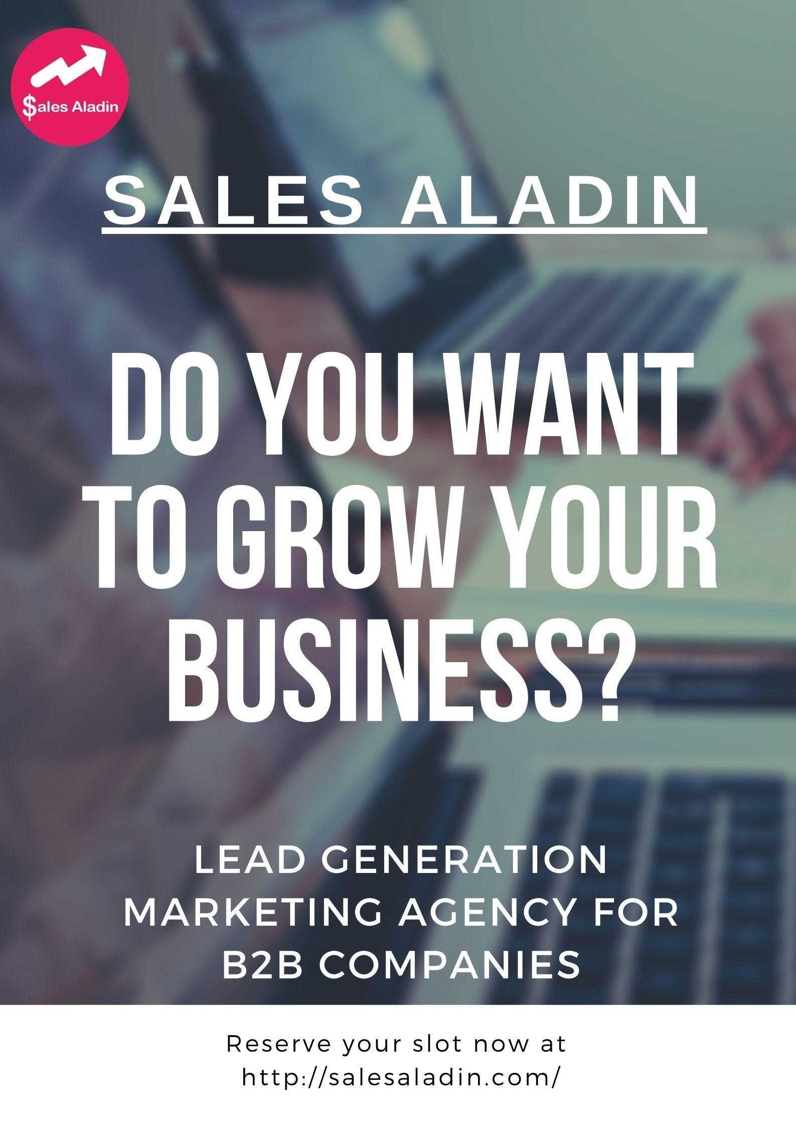 Lead Generation Marketing Agency for B2B Companies