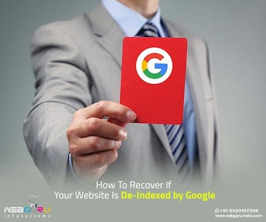 How To Recover If Your Website Is De-Indexed by Google