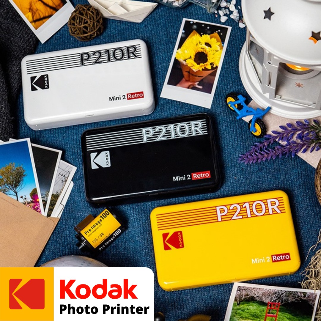 Best Instant Bluetooth Portable Photo Printer For iPhone & Android | Kodak Photo Printer