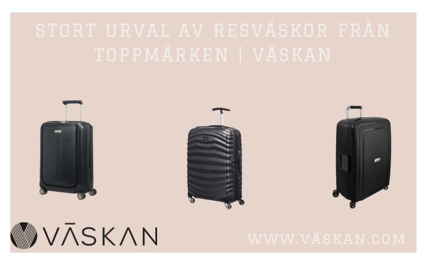 Stort urval av resväskor från toppmärken | Väskan