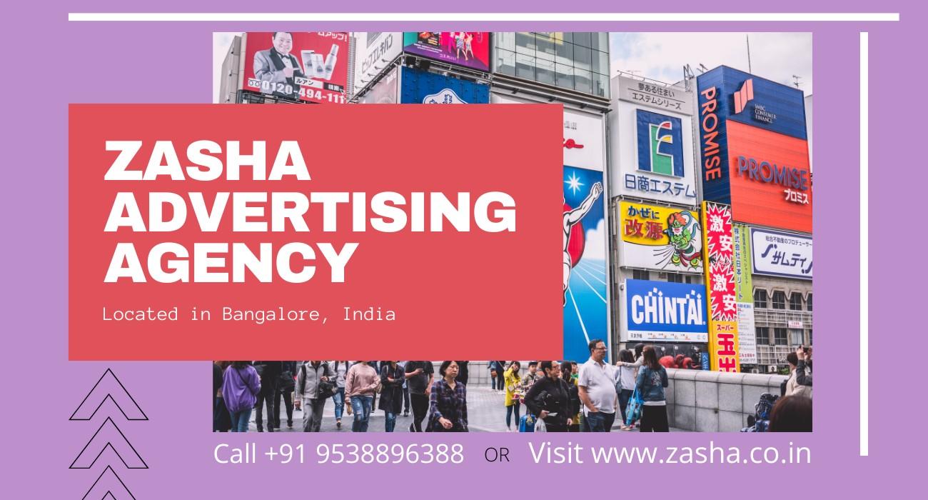 Zasha Advertising Agency in Bangalore India