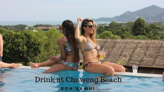 Drink at Chaweng Beach