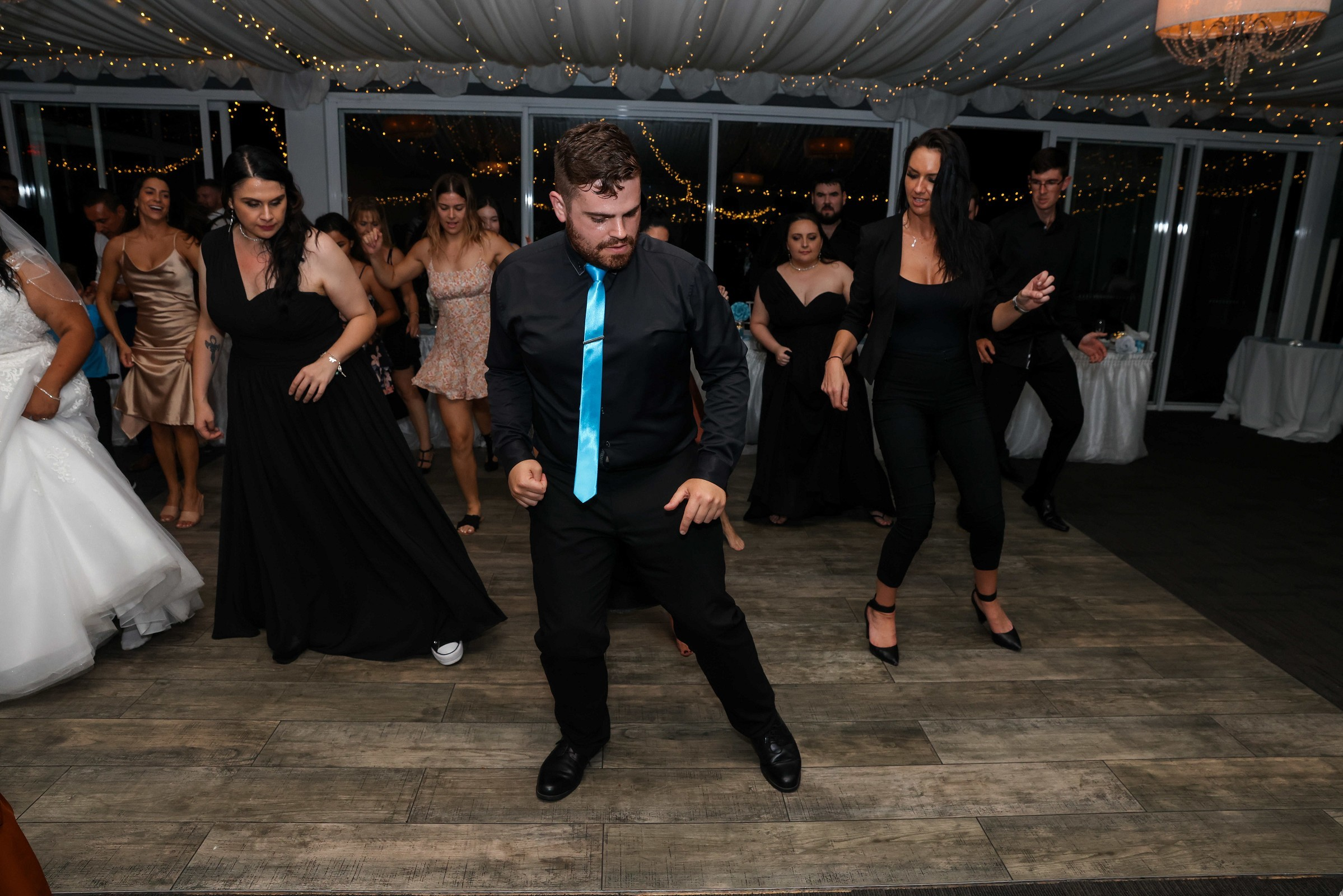 Don't know how to dance? Never fear, Nathan will teach you!