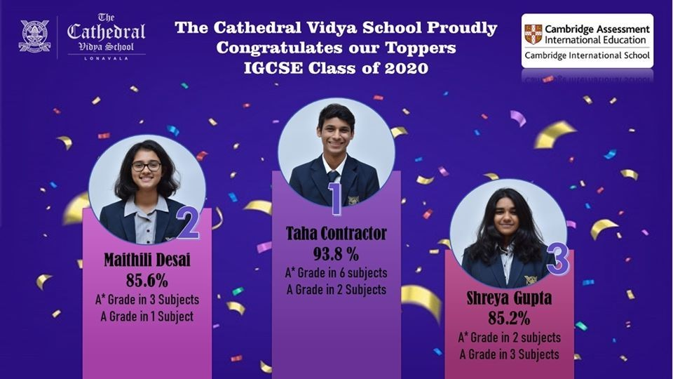 Cambridge IGCSE Results - Best IGCSE Boarding Schools in Pune