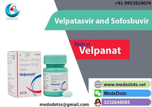Natco Eplusa Price India   Generic Velpatasvir Sofosbuvir buy online   Velpanat Tablets wholesale In