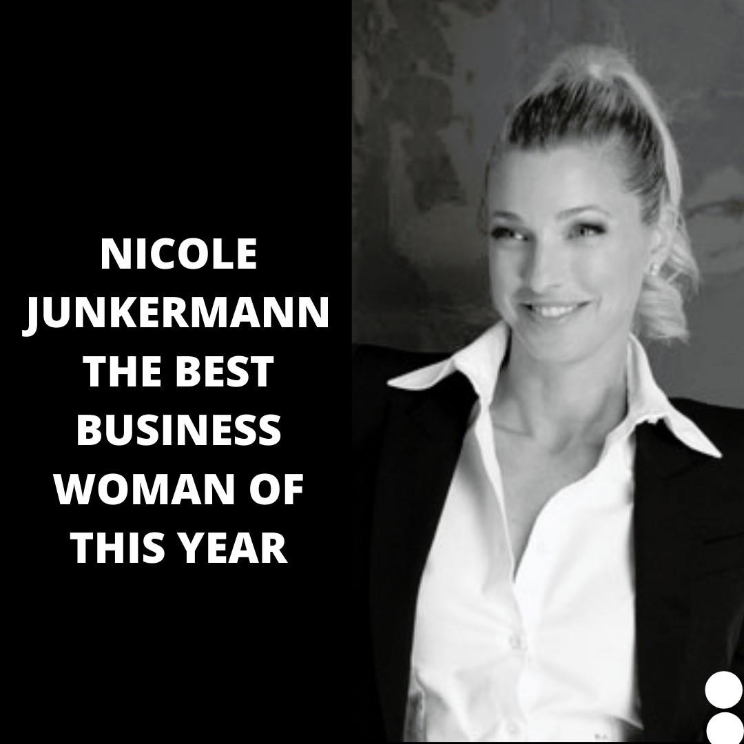 Nicole Junkermann , una mujer líder en economía