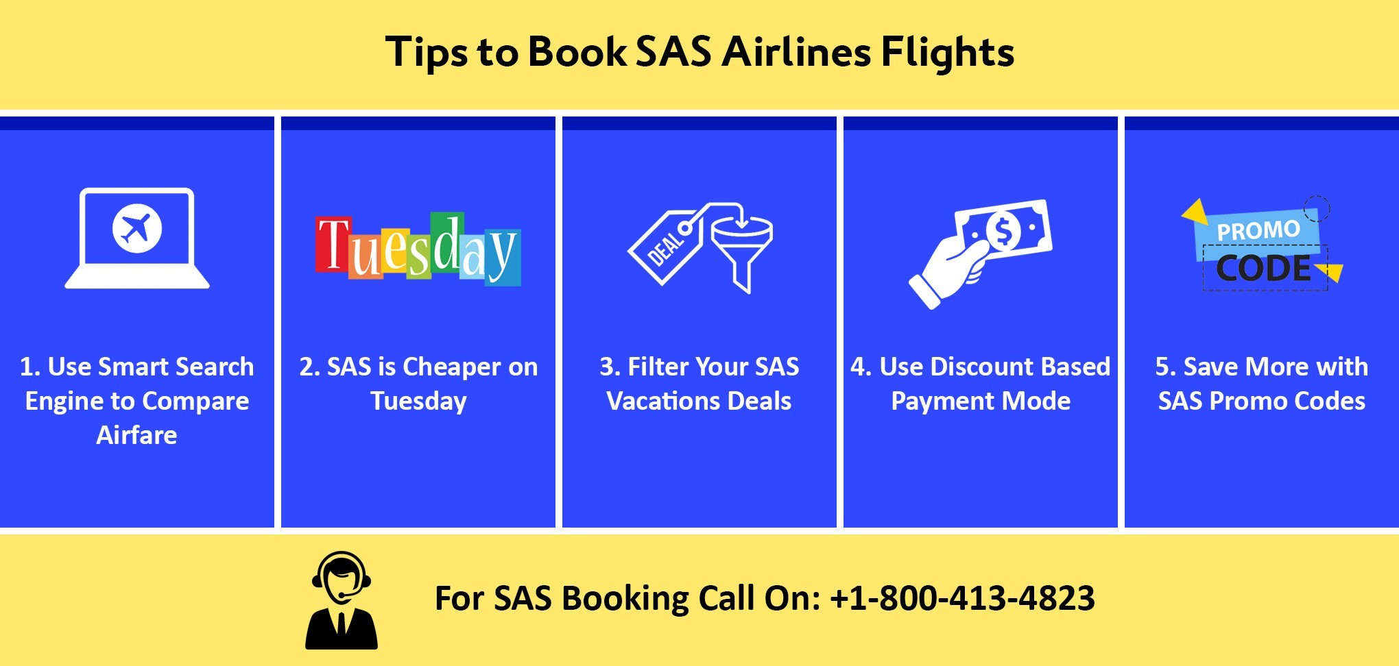 Tips to Book SAS Airlines Flights