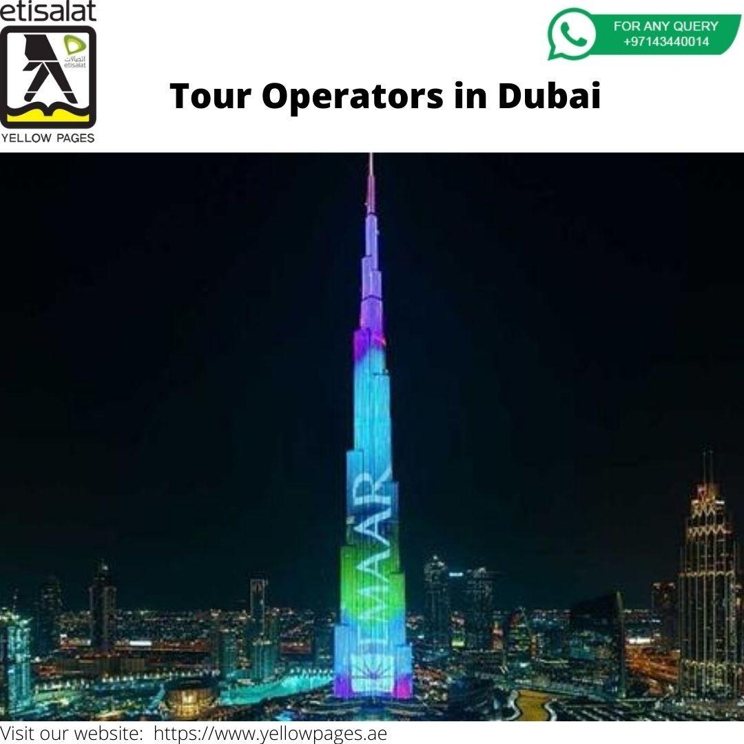 Tour Operators in Dubai