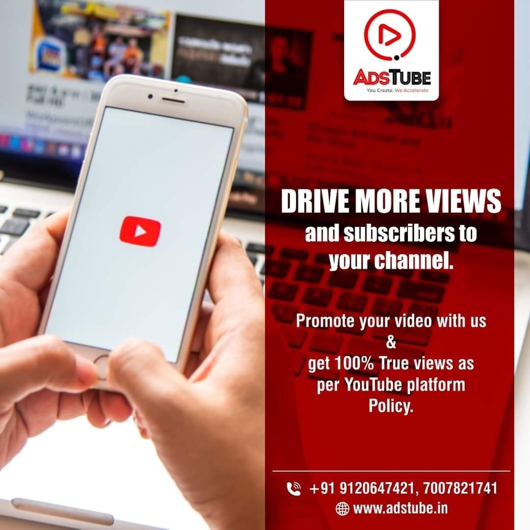 YouTube Promotion Services In India - AdsTube