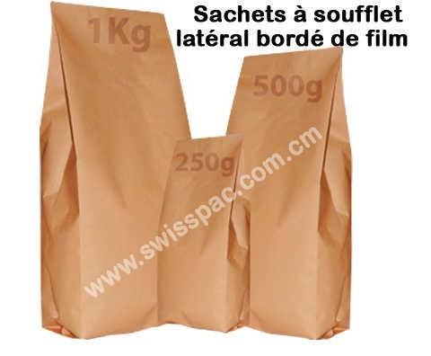 Brown Sachet en papier Kraft