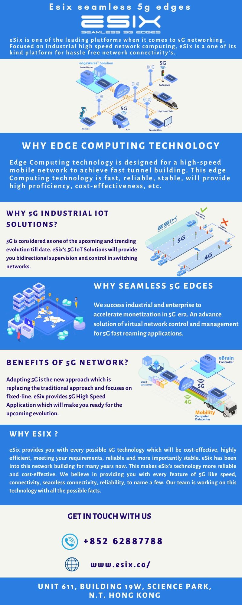 Edge Computing Technology - 5G High Speed Applications