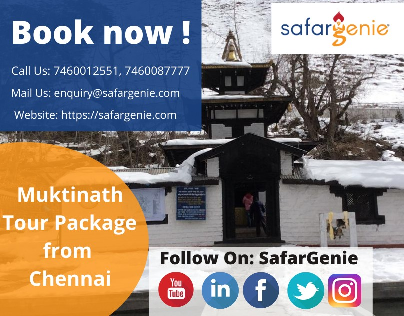 MUKTINATH TOUR PACKAGE FROM CHENNAI in 2021