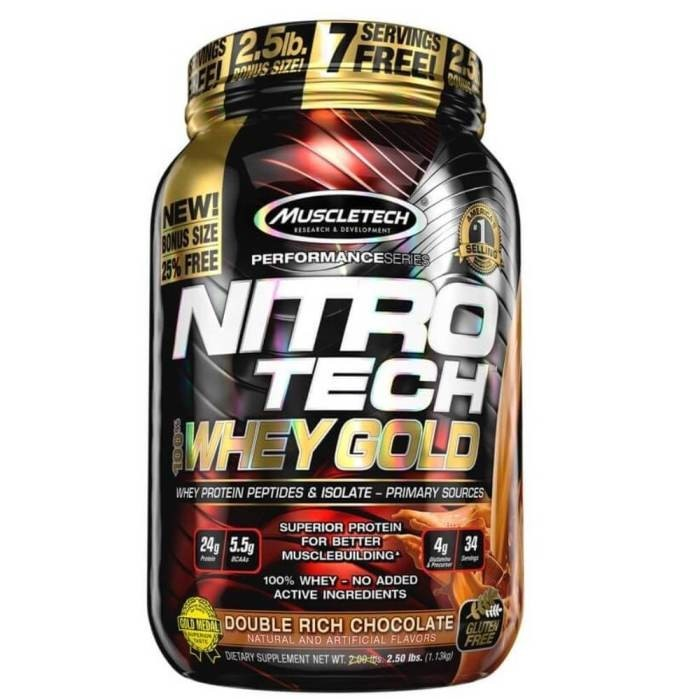 Whey 100% Nitro Tech Gold Muscletech