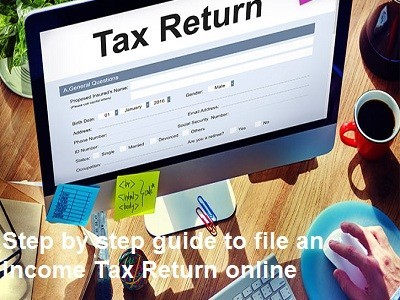 Complete Step Guide to Income Tax Returns Online