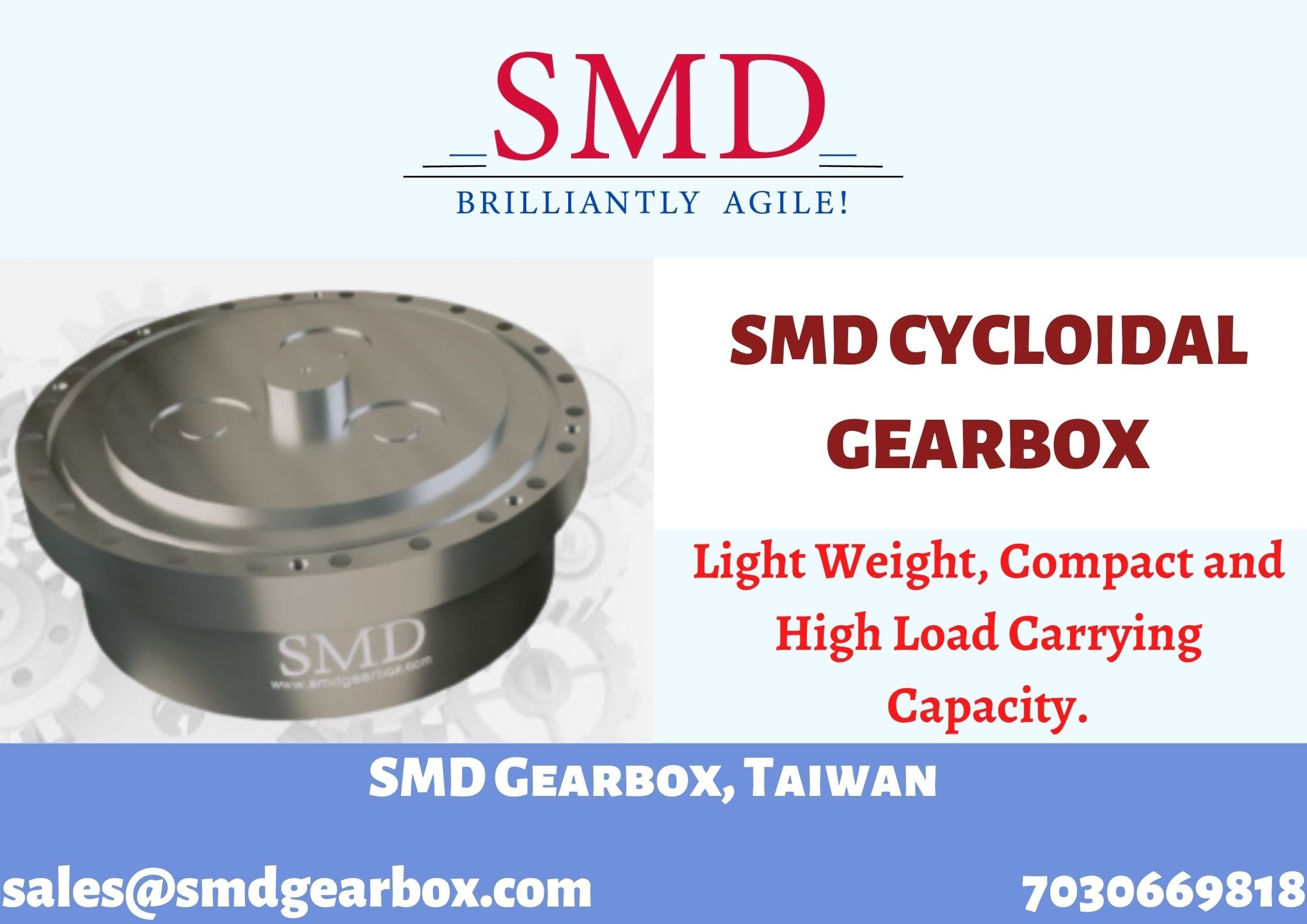 Cycloidal Reducer | SMD Gearbox