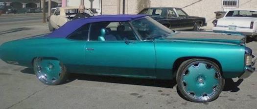 1971 Impala on 26'' Forgiato's