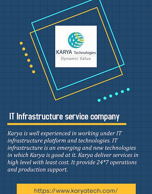 IT Infrastructure service companies