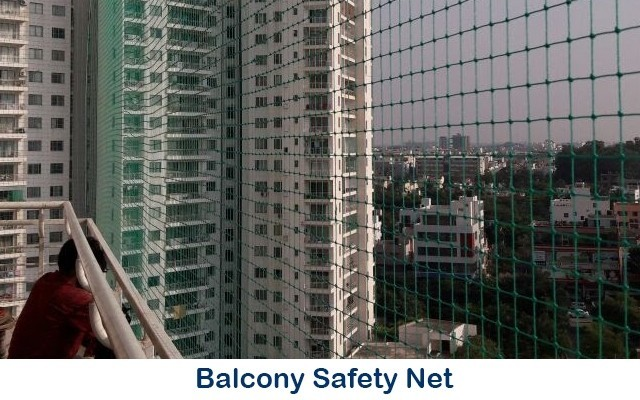 Safety Nets in Bangalore | Balcony Safety Nets in Bangalore