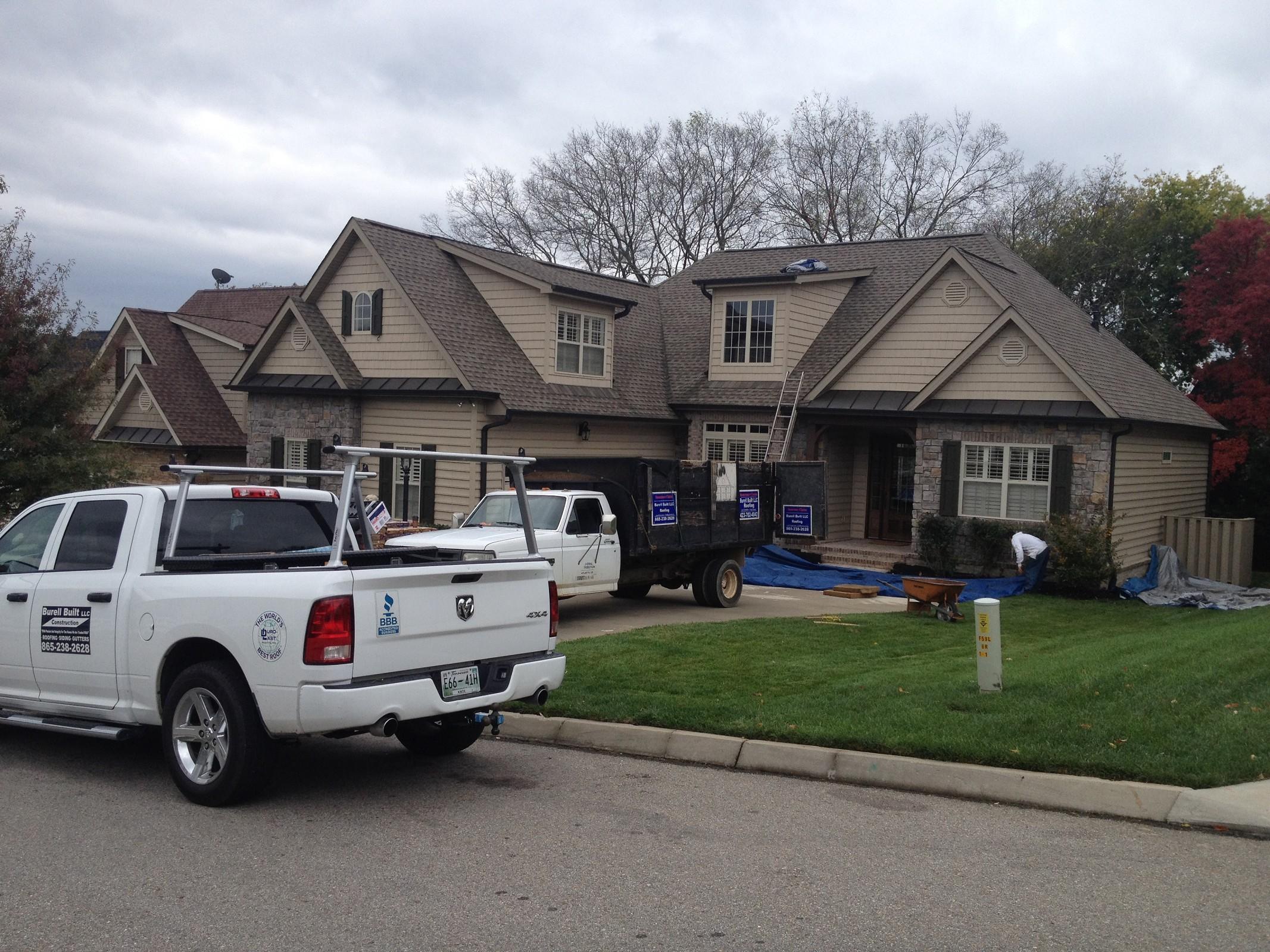Roofing Knoxville TN - Burell Built Exteriors
