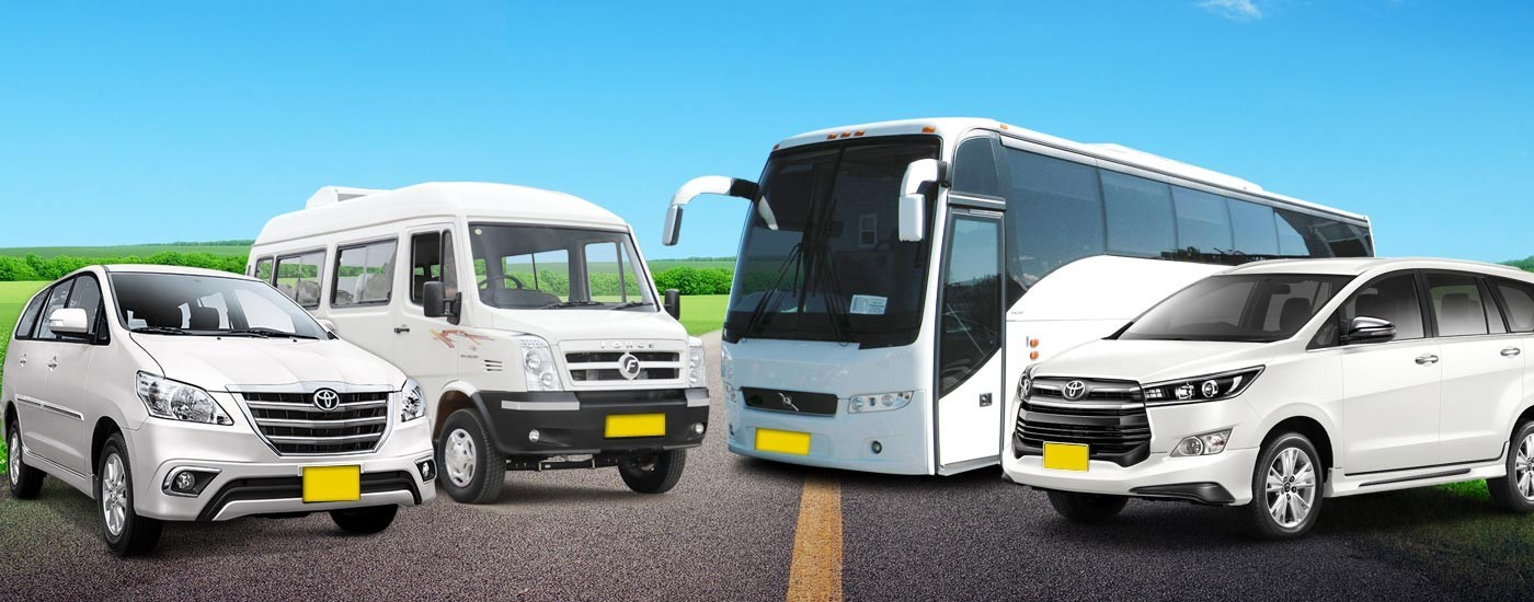Car Rental, Tempo Traveler and Bus Hire