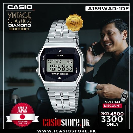 A159WAD-1DF CASIO VINTAGE CLASSICS DIAMOND EDITION