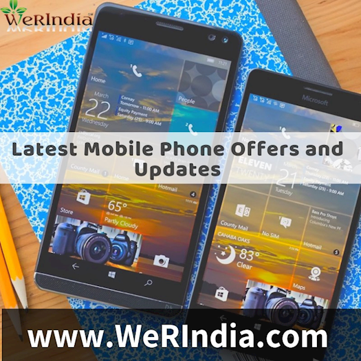 Get all the latest mobile updates and offers in India