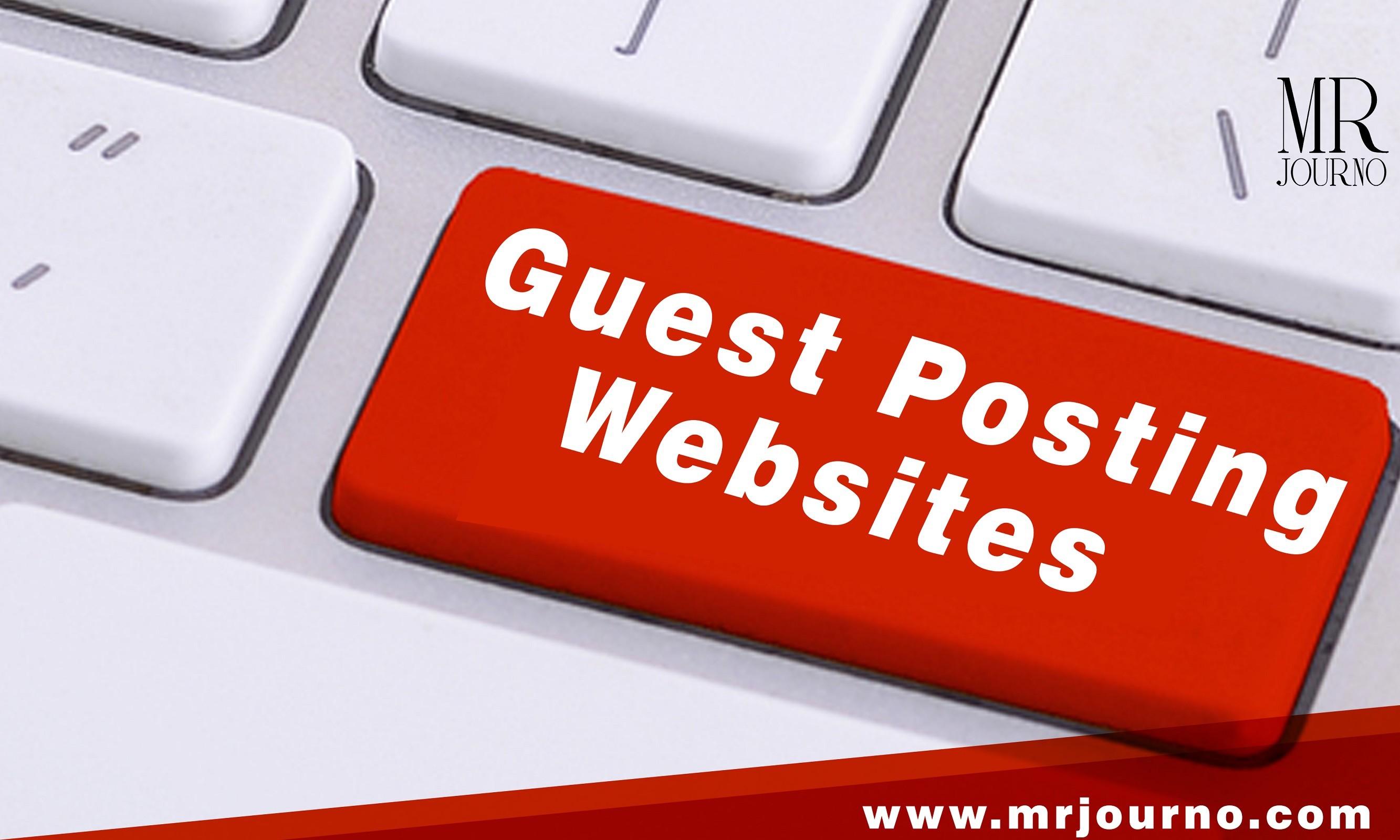 Best Guest Posting Websites 2021